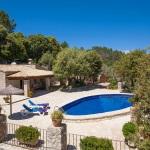 Ferienhaus Mallorca MA2259 - Blick auf Haus und Pool