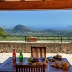 Ferienhaus Mallorca MA2261 - Blick von der überdachtenTerrasse