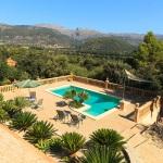 Ferienhaus Mallorca MA1283 - Blick über den Pool