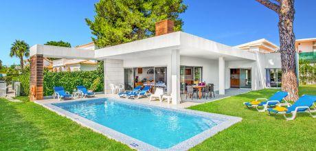 Ferienhaus Algarve Albufeira 3014 mit privatem Pool für 6 Personen, Strand = 1,6 km. Wechseltag Samstag/Dienstag, Nebensaison flexibel auf Anfrage – Mindestmietzeit 1 Woche.