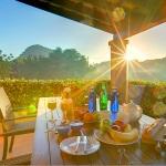 Ferienhaus Mallorca MA1257 - überdachte Terrasse mit Gartenmöbel