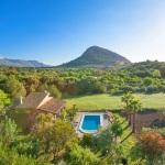 Ferienhaus Mallorca MA1257 - Blick auf Garten mit Pool