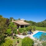 Ferienhaus Mallorca MA1257 - Blick auf Haus und Pool