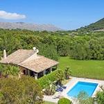 Ferienhaus Mallorca MA1257 - Panoramablick über Haus und Pool
