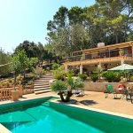 Ferienhaus Mallorca MA1283 - Pool und Haus