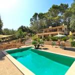 Ferienhaus Mallorca MA1283   - Poolterrasse
