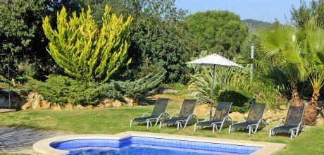 Mallorca Nordküste – Ferienhaus Pollensa 2006 mit Pool, Grundstück 4.000qm, Wohnfläche 120qm, Wechseltag Samstag, Nebensaison flexibel auf Anfrage – Mindestmietzeit 1 Woche.