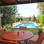 Ferienhaus Mallorca MA2030 - Esstisch auf der Terrasse