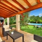 Ferienhaus Mallorca MA2040 - Gartenmöbel auf der Terrasse