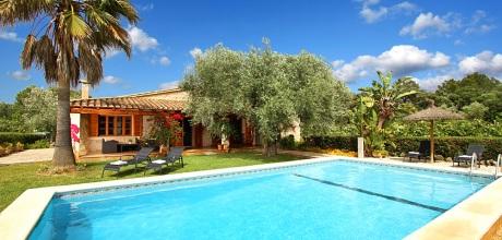 Mallorca Nordküste – Finca Pollensa 2040 für 4 Personen mit Pool und Internet mieten. Wechseltag Samstag – Mindestmietzeit 1 Woche