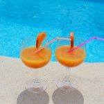Ferienhaus Mallorca MA2087 Erfrischungen am Pool