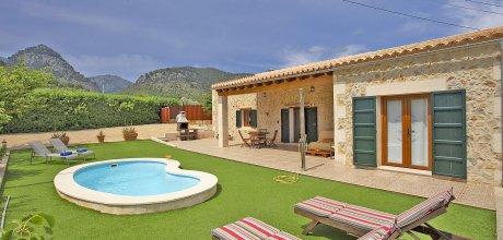 Mallorca Nordküste – Komfort Finca Caimari 2087 mit Pool und schönem Ausblick, Grundstück 1.800qm, Wohnfläche 100qm. Wechseltag flexibel – Mindestmietzeit 1 Woche!