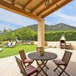 Ferienhaus Mallorca MA2087 Terrasse mit Gartentisch