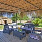 Ferienhaus Mallorca MA2095 überdachte Terrasse