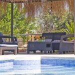 Ferienhaus Mallorca MA2095 Gartenmöbel am Pool