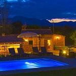 Ferienhaus Mallorca MA2095 - Haus und Pool beleuchtet