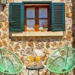 Ferienhaus Mallorca MA2095 Sitzmöbel am Haus