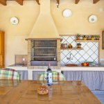Ferienhaus Mallorca MA2095 Sommerküche mit Grill