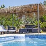 Ferienhaus Mallorca MA2095 Sonnenliegen am Pool