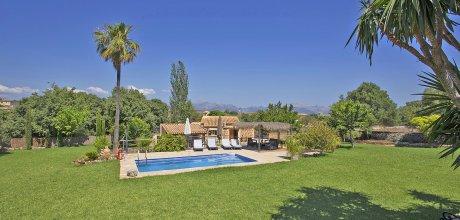 Mallorca Nordküste – Komfort Ferienhaus Llubi 2095 mit Pool, Grundstück 7.000qm, Wohnfläche 85qm. Wechseltag flexibel – Mindestmietzeit 1 Woche.