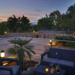 Ferienhaus Mallorca MA2095 - Terrasse am Abend