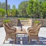 Ferienhaus Mallorca MA2095 Terrasse mit Esstisch