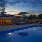 Ferienhaus Mallorca MA2095 - beleuchteter Pool am Abend