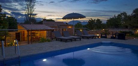 Mallorca Nordküste – Komfort Ferienhaus Llubi 2095 mit Pool, Grundstück 7.000qm, Wohnfläche 85qm. Wechseltag flexibel – Mindestmietzeit 1 Woche. 2019 buchbar!