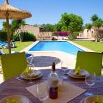 Ferienhaus Mallorca MA2097 - Gartentisch auf der Terrasse