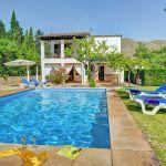 Ferienhaus Mallorca MA2160 Liegen am Pool