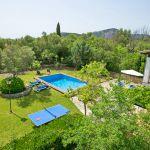 Ferienhaus Mallorca MA2160 Tischtennis-Platte im Garten