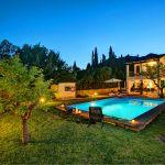 Ferienhaus Mallorca MA2160 beleuchteter Pool