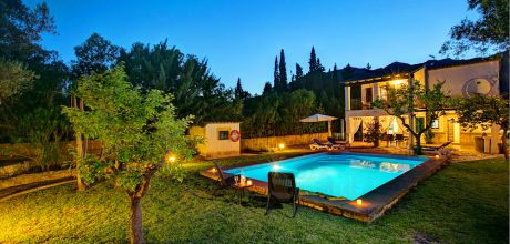 Mallorca Nordküste – Komfort-Ferienhaus Pollensa 2160 mit Pool auf gepflegtem Gartengrundstück, Strand 5km. An- und Abreisetag Samstag.