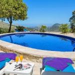 Ferienhaus Mallorca MA2259 - Liegen auf der Poolterrasse