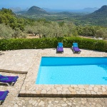 Ferienhaus Mallorca MA2261 - Blick über den Pool