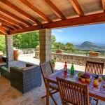 Ferienhaus Mallorca MA2261 - Gartenmöbel auf der Terrasse