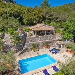 Ferienhaus Mallorca MA2261 - Hausansicht von oben