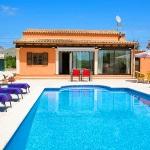 Ferienhaus Mallorca MA2291 - Poolterrasse mit Sonnenliegen