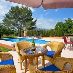 Ferienhaus Mallorca MA2291 - Terrasse mit Gartenmöbel