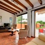 Ferienhaus Mallorca MA2291 - Wohnraum mit TV