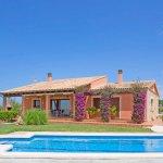 Finca Mallorca MA2077 Rasenfläche um den Pool