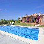 Finca Mallorca MA2077 Terrasse am Pool