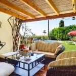 Ferienhaus Costa del Sol CSS4025 überdachte Terrasse