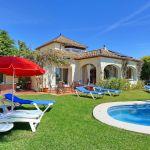 Ferienhaus Costa del Sol CSS4025 Gartenmöbel am Pool