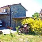 Ferienhaus Toskana TOH170 - Blick auf das Haus