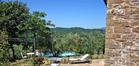 Ferienhaus Toskana Subbiano 170 mit Pool und Whirlpool, Wohnfläche 40qm. Wechseltag Samstag, Nebensaison flexibel
