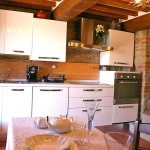 Ferienhaus Toskana TOH170 - Küche mit Esstisch