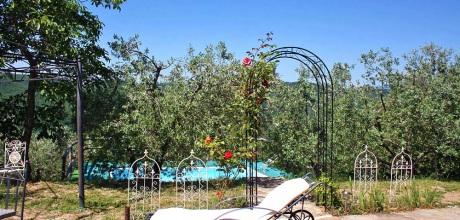 Ferienhaus Toskana Subbiano 170 mit eigenem Pool und Whirlpool, Wohnfläche 40qm. Wechseltag Samstag, Nebensaison flexibel.