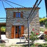 Ferienhaus Toskana TOH170 - Terrasse mit Liegestühlen