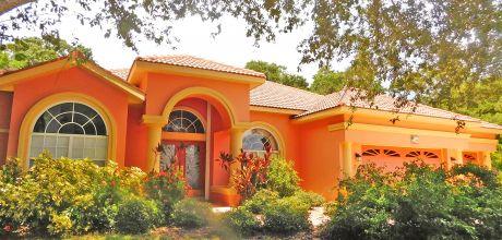 Florida Villa Manasota Beach 31740 mit beheizbarem Pool in Strandnähe (ca. 900m), Grundstück 1.500qm, Wohnfläche 200qm. Wechseltag flexibel auf Anfrage.
